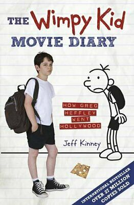 (Very Good)-The Wimpy Kid Movie Diary: How Greg Heffley Went Hollywood (Diary of