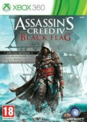 Xbox 360 : Assassins Creed IV (4) Black Flag Day 1 VideoGames Quality guaranteed