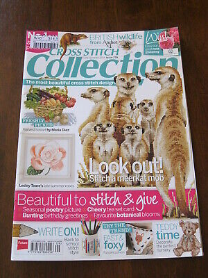 Cross Stitch Collection: Issue 239/ 2014: Inc: Meerkat Mob      :Preloved