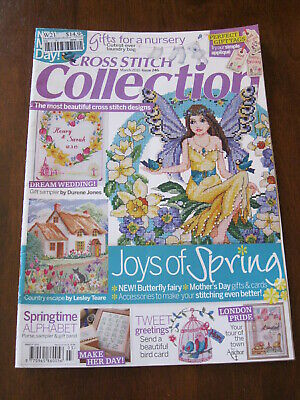 Cross Stitch Collection: Issue 246/ 2015: Inc: Butterfly Fairy  :Preloved