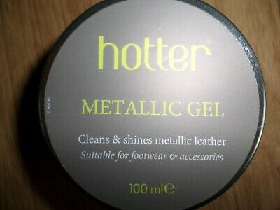 Hotter Metallic Gel - Cleans & Shines Metallic Leather Footwear & Accessories