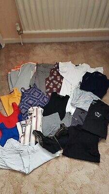 Ladies Clothing Bundle Joggers Tops Leggings Trousers Size Small 8 10