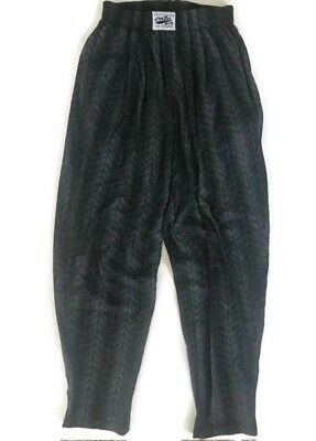 Solid Black C500 Workout Pants by Crazy Wear