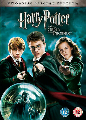 Harry Potter and the Order of the Phoenix DVD (2007) Daniel Radcliffe, Yates