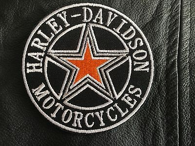 Harley Davidson Patch Aufnäher Star-n-Circle Biker MC Harley Kutte Chopper