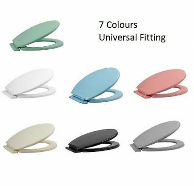 Luxury Toilet Seat With Fittings Easy Close Top Easy Clean UK Standard Size WC