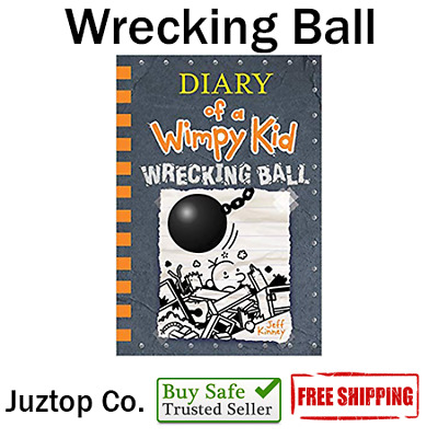 NEW HARDCOVER Wrecking Ball By Jeff Kinney (Diary of a Wimpy Kid Book 14)