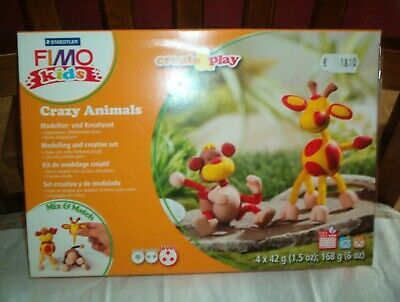 Staedtler Fimo Kids - Crazy Animals - create & play - Level 3