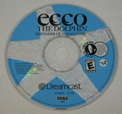 Sega Dreamcast Game - Ecco the Dolphin Defender of the Future  DISC ONLY