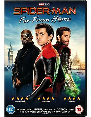 SPIDER MAN - FAR FROM HOME di Jon Watts DVD in Italiano/Inglese NEW .cp