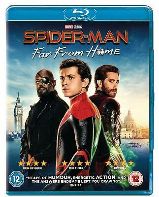 SPIDER MAN - FAR FROM HOME di Jon Watts BLURAY in Inglese NEW .cp