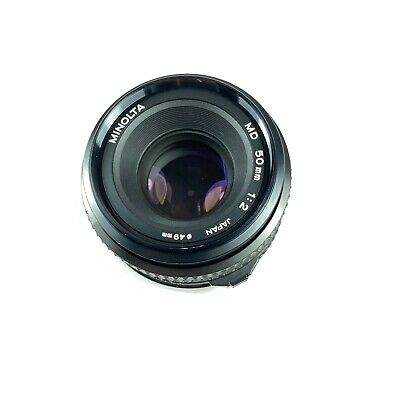 Minolta MD 50mm F/ 2.0 Prime MF Lens - {Great for mirrorless w/ adapters}