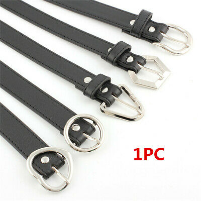 Fashion Pu Leather Adjustable Metal Women Buckle Waist Belts Waist Chain Women