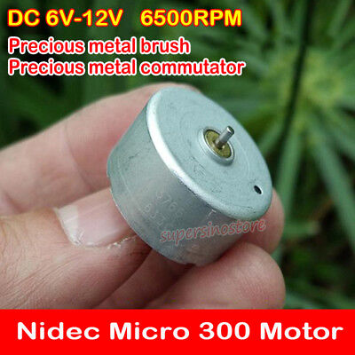 Nidec Brushless Micro 14mm Motor DC 6V-12V 18800RPM 3-phase 4-wire 9-pole Stator