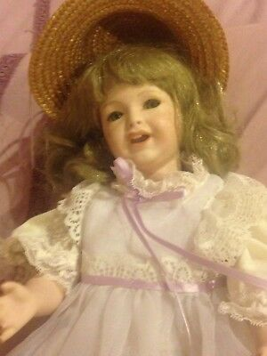 French Reproduction Doll Porcelain Doll - Made In Australia