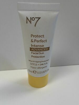 No7 Protect & Perfect Intense Advanced Facial Sun Protection 10ml Travel Size