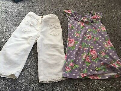 Girls Next Top And Trousers Age 3-4 Years