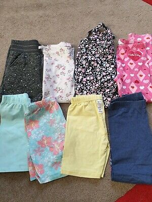 Girls Bundle Trousers/shorts Age 6-7