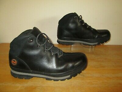 Timberland Pro Splitrock A136P Black Work / Hikers Safety Steel Toe Boots UK 10