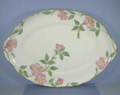 "Large 19"" Platter, Desert Rose Pattern, Franciscan Ware China, California"