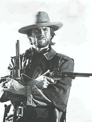 Clint Eastwood Holding Guns Josey Wales  Print 18X24 Poster New