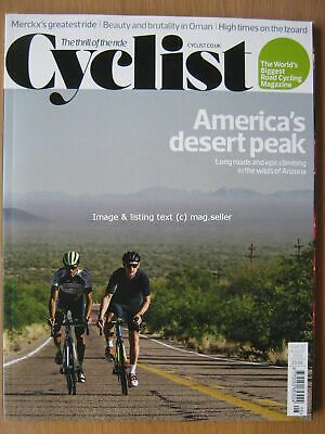 Cyclist August 2019 90 Eddy Merckx Giro d'Italia Kitt Peak Arizona Route Oman