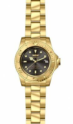 Invicta Pro Diver Black Dial Gold Ion-plated Men's Watch 15848