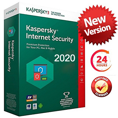 KASPERSKY INTERNET SECURITY 2020 1 PC DEVICE 2 YEAR - GLOBAL KEY Sale 13.99$