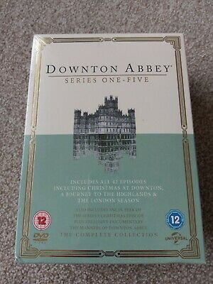 Downton Abbey: Series 1-5 (DVD, 2014, 5-Disc Set) - Still Sealed