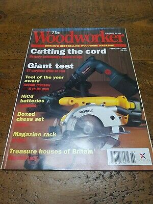 The Woodworker Magazine February 1996