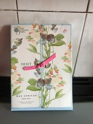 Box Of Sweet Pea Drawer Liners X 6. New