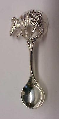 Salt Spoon Sterling Silver (   Armadillo )