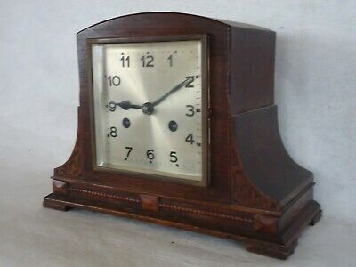 1920's Art Deco Chiming Mantle Clock. Spares Or Repair