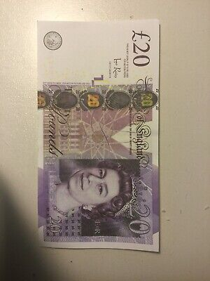 11x £20 Note Realistic UK Pounds Prop Money British ACTUAL SIZE! -Fast shipping