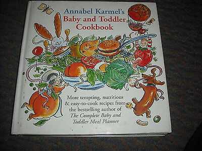 Annabel Karmel's Baby & Toddler Cookbook Hardback
