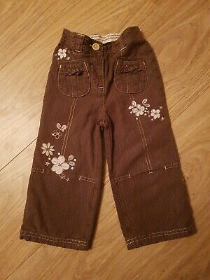 Lovely Girls Next Trousers, Age 18-24Months
