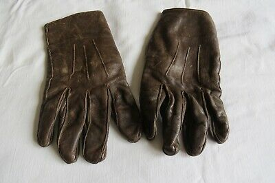 STAG Leather Driving GLOVES - Size 9.5 - Vintage