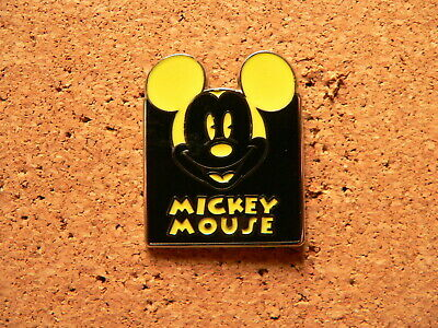 Mickey Disney Pin - Expressions - Mystery Pouch - Happy (Yellow)