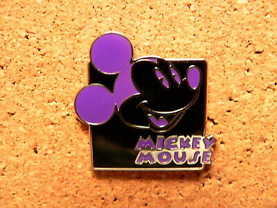 Mickey Disney Pin - Expressions - Mystery Pouch - Laughing (Purple)