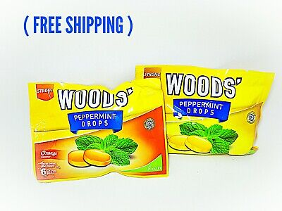 4 pcs Wood Cough Drop Relief Candy Sweets Assorted FLAVOR (5pax) free ship