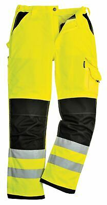 Portwest Xenon Trousers Pants High Visibility Reflective Pockets