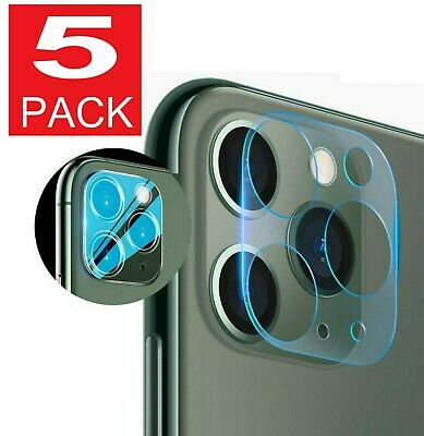For iPhone 11 Pro Max FULL COVER HD Tempered Glass Camera Lens Screen Protector