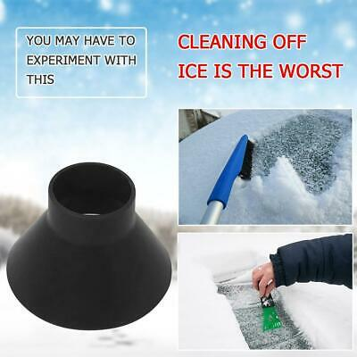 Magic Car Windshield Ice Snow Remover Scraper Tool Kit Cone Shaped Round Funnel