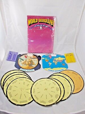 Windows of Learning World History & Geography Game Lot