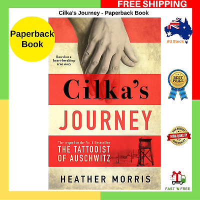 Cilka's Journey By Heather Morris Paperback Book BRAND NEW 2019 FREE SHIPPING