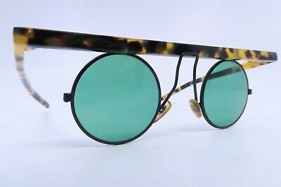 Vintage 80s Braunwarth sunglasses round lens surrounds made in Italy SUPERB*****