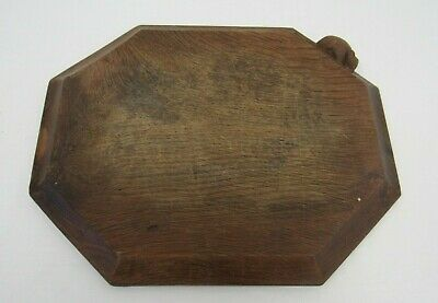"Robert ""Mouseman"" Thompson Oak Bread/Cheese Board - TRU L46"