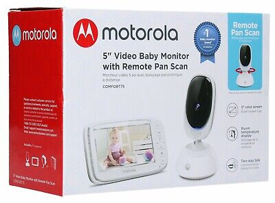 Motorola 5-Inch Video Baby Monitor with Remote Pan Scan