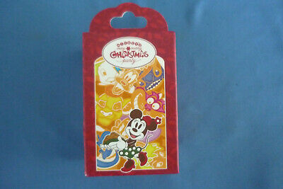 MERRY  CHRISTMAS PARTY  2019  MYSTERY BOX with 2  Disney Pins Pin  NEW in box