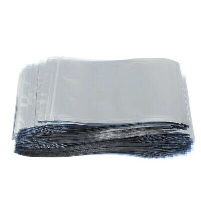 ESD 10x15 cm. Anti Static Shielding and Zippered bags 1-100 Pcs. Re-Sealable